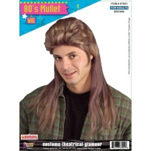 Forum 80s Mullet Wig Arizona Fun Services Tempe Arizona