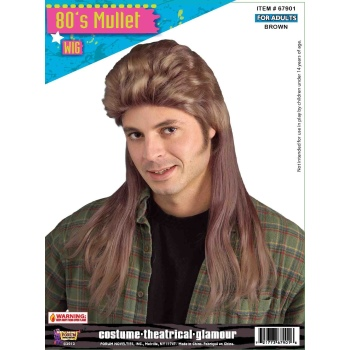 Forum 80s Mullet Wig Arizona Fun Services Tempe Arizona