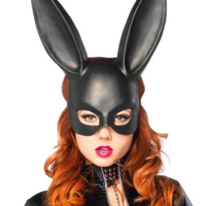 Leg Avenue Halloween Costume Accessories Bunny Bondage Black Masquerade Mask Arizona Fun Services Tempe Arizona