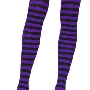 Leg Avenue Black and Purple Tights Arizona Fun Services Tempe
