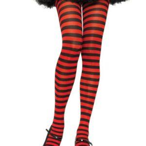 Leg Avenue Black Red Striped Tights Arizona Fun Services Tempe