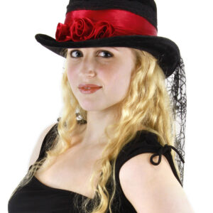 Elope Gothic Rose Top Hat Arizona Fun Services Tempe Arizona