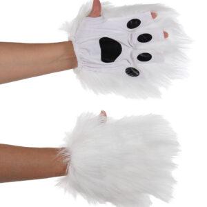 Elope White Fingerless Paws Arizona Fun Services Tempe Arizona