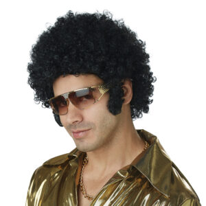 California Costume Black Afro Chops Wig Arizona Fun Services Tempe Arizona