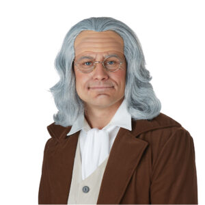 California Costume Benjamin Franklin Wig Arizona Fun Services Tempe Arizona