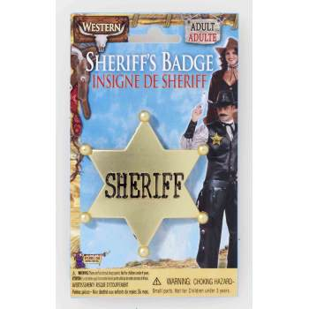 Forum Gold Sheriff Badge Arizona Fun Services Tempe Arizona