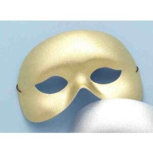 Forum Half Mask Gold Arizona Fun Services Tempe Arizona