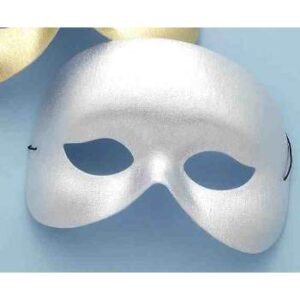 Forum Half Mask Silver Arizona Fun Services Tempe Arizona